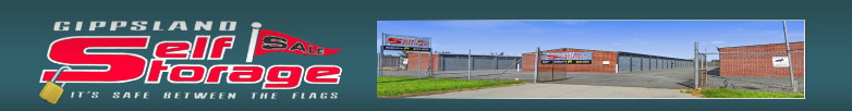 gippsland self storage units